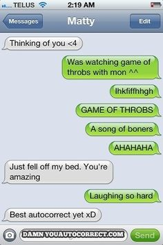 Game of throbs: