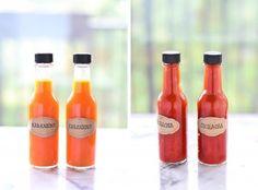 DIY Hot Sauce (Habanero & Sriracha)