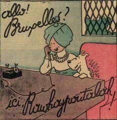 Tintin cover le petit vingtieme 1934