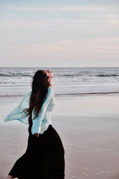 #free #freedom #happy #happiness #beach #sun #sunset #blue #girl #sea