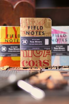 The latest edition of Field Notes — a collaboration with the Hamilton Wood Type & Printing Museum — turned out great.