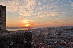 Vista do castelo, Lisboa