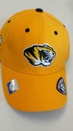 cheap for discount 522cd 36a06 Missouri Tigers Triple Conference Velcro Adjustable Hat by Top of the World  www.shopmosports.