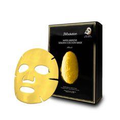 JMsolution Water Luminuous Golden Cocoon Mask Black 45g x 10ea #JMsolution #333korea #skincare #beauty #koreacosmetics #cosmetics #oppacosmetics #cosmetic #koreancosmetics #masksheet #maskpack #facemask #facialmask
