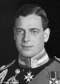 Prince George, the Duke of Kent. Late uncle of Elizabeth II.