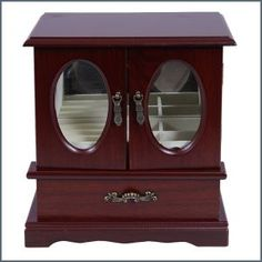 Ékszertartó szekrényke ― Hepi otthon China Cabinet, Storage, Furniture, Jewelry, Home Decor, Purse Storage, Jewlery, Decoration Home, Chinese Cabinet