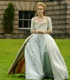 The Duchess: 18th century robe a l'anglaise