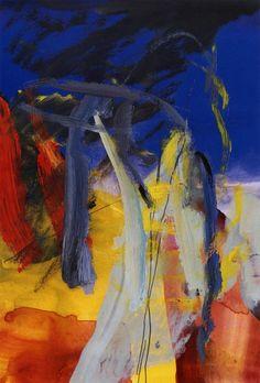 Gerhard Richter » Art » Oil on Paper » Untitled (6.10.1985)