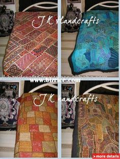 Decorative King India Banjara TRIBAL Patchwork Bed Cover Bedding Bedspread / India Bedspread for sale