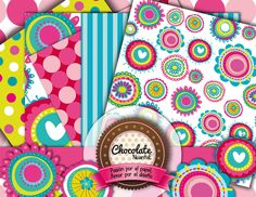 Flores12 Chocolate, Paper Envelopes, Chocolates, Brown