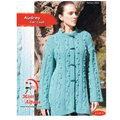 Audrey Car Coat in Misti Alpaca Chunky - 3003 - Downloadable PDF. Discover more patterns by Misti Alpaca at LoveKnitting. We stock patterns, yarn, needles and books from all of your favourite brands.