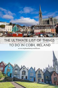 Cobh is a fantastic harbour town that often gets overlooked by Cork which is a shame. Read on for all the things to do in Cobh, Ireland. Ireland Travel Guide, Europe Travel Guide, Travel Guides, Travel Uk, Travel England, Travel Abroad, Luxury Travel, Europe Destinations, Places In Europe