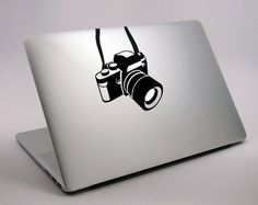 Mac camera Decal Sticker  laptop stickers mac  by NatureArtfoR