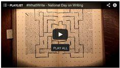 "[Video Break] Watch this 5 minute film festival, ""National Day on Writing"". Writing Ideas, Writing Skills, Middle School, Back To School, Ela Classroom, Writers Notebook, High School English, School Videos, English Language Arts"
