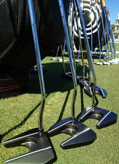 "March 6, 2013: ""A Tank spotted at #WGCCadillac at Doral? What on earth?!?,"" tweeted Callaway Golf Europe (@CallawayGolfEU) about these new Odyssey Tank putters that made their official PGA Tour debut at the Cadillac Championship."