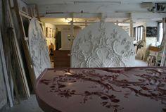 Geoffrey Preston Studio http://www.elizabethmachinpr.com/geoffrey-preston-plasterworks.html