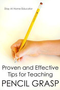 5 Proven Tips For Teaching Correct Pencil Grasp