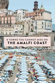 Amalfi Coast Italy Map & Top Towns to Visit