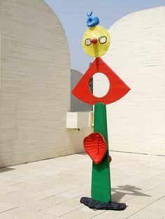 Sculpture at Fundacio Joan Miro, Barcelona