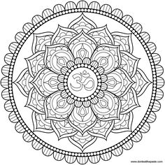 Lotus mandala. Reaching for enlightenment yet having our feet planted firmly on the ground at the same time