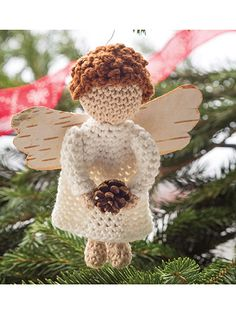 Winter Woods Angel Crochet Pattern