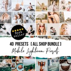 Buy WHOLE SHOP and Save This package includes all 36 presets available in store. Instagram Photo Editing, Instagram Feed, Make Photo, Photo Look, Blog Images, Lightroom Presets, Photo Wall, Filters