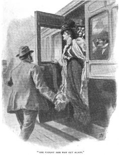 Sherlock Holmes The Adventure of Wisteria Lodge She fought her way out again