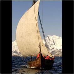 Viking ship, Norway