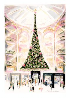 Christmas in Paris by Dominique Corbasson