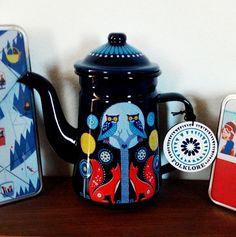 Folklore Night coffee pot by Wild & Wolf