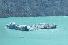 Check out the size of this iceberg! November 2014 on the Tasman Glacier lake , Mt Cook.