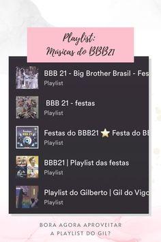 Playlist: Músicas do BBB21 - Nerdiva.com.br
