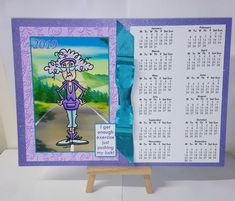 2019 A4 Calendars With Decoupage JJ Humorous Bumper Kit - CUP886212_68 | Craftsuprint