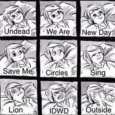 I think sing and idwd need to be switched, but the rest is true