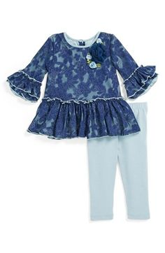 Pippa & Julie Tunic & Leggings (Baby Girls) available at #Nordstrom