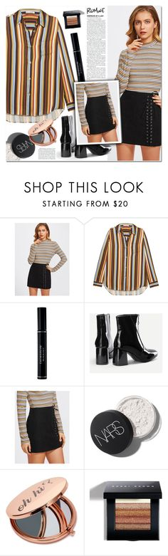 """""""romwe"""" by pankh ❤ liked on Polyvore featuring Acne Studios, Christian Dior, Miss Selfridge and Bobbi Brown Cosmetics"""