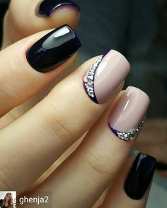 Opting for bright colours or intricate nail art isn't a must anymore. This year, nude nail designs are becoming a trend. Here are some nude nail designs. Elegant Nail Designs, Pretty Nail Designs, Elegant Nails, Nail Art Designs, Nails Design, Fabulous Nails, Gorgeous Nails, Pretty Nails, Gel Nail Art