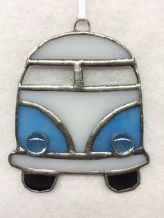 Stained Glass Ornament - VW Bus