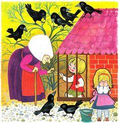 Bröderna Grimm - Hans och Greta by Book Cover Lover, via Flickr