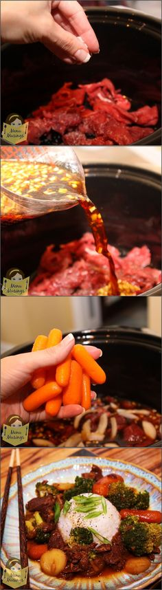 Crock Pot Beef and Broccoli.