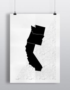 Noon Pacific :: Left Coaster Poster