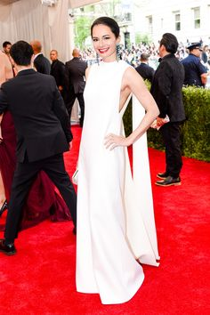 Dr. Lisa Airan in Valentino Couture