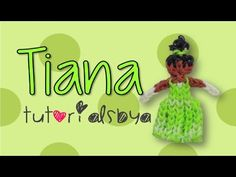 ▶ {Disney Princess Series} Tiana Rainbow Loom Figurine- ORIGINAL - YouTube