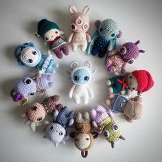 47 Ideas Crochet Toys For Kids Doll Patterns Crochet Patterns Amigurumi, Crochet Dolls, Knitting Patterns, Crochet Crafts, Yarn Crafts, Crochet Projects, Kawaii Crochet, Love Crochet, Crochet Monsters