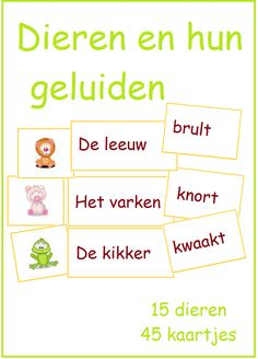 Jungle Safari, Jungle Theme, Learn Dutch, Fauna, Letters, Teaching, Education, School, Kids
