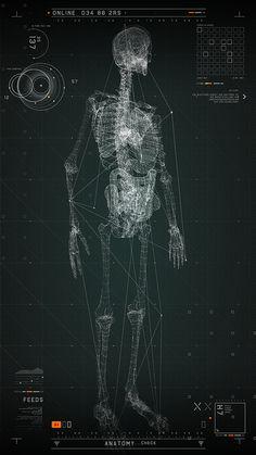 FUTURISTIC MEDICAL INTERFACE on Behance