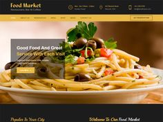 The Food Market is modern and creative Restaurant Free HTML Template. It is suitable for any restaurant, a small restaurant or a premium that would briefly talk about his restaurant and show all the achievements, About Restaurant, eatured Offer, Hot Offer, Set-Menu, Service, Team and restaurant interiors.
