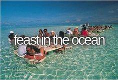 feast in the ocean