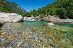 Crystal Clear Swiss River Verzasca 20