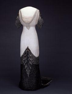 Dress  Jean-Philippe Worth, 1912-1913  Nasjonalmuseet for Kunst, Arketektur, og Design